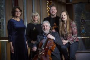 Deirdre Gribbin and Neil Martin Receive Major Arts Awards