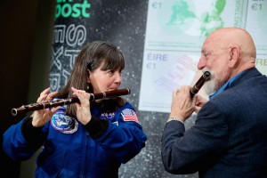 Matt Molloy Joins Cady Coleman for Launch of Space Exploration Stamps
