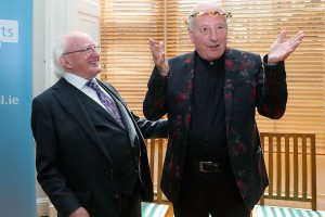 'Composing makes me happy… that's why I do it so much': Roger Doyle Honoured by President Higgins