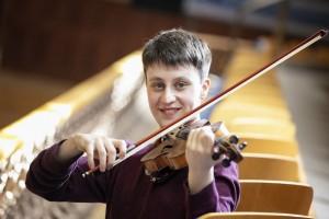 'Milton Violin' Presented to Orchestra Leader Samuel Kane