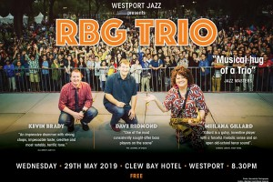 RBG TRIO - LIVE IN WESTPORT