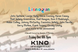 Lisnagun: A Benefit Concert for Brendan & Michèle