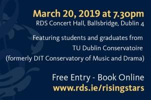 RDS Rising Stars Concert ft TU Dublin Conservatoire
