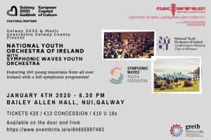 National Youth Orchestra of Ireland and Symphonic Waves