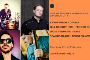 The Kevin Brady Trio featuring Bill Carrothers & Seamus Blake - Live in Limerick