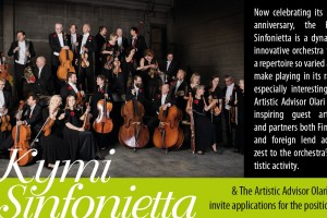 Kymi Sinfonietta: Alternating Principal Horn