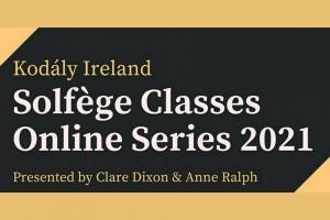 Kodály Ireland Solfège Classes 2021
