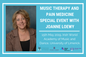 Music Therapy and Pain Medicine: Special Event with Joanne Loewy