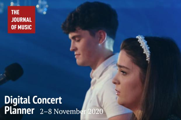 Digital Concert Planner: 2–8 November 2020