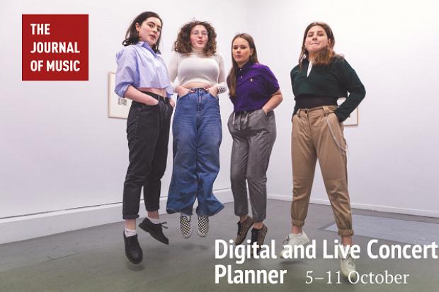 Digital and Live Concert Planner: 5–11 October 2020
