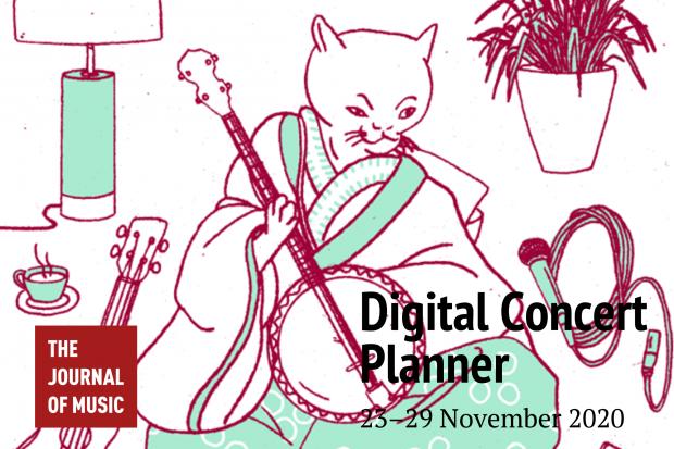 Digital Concert Planner: 23–29 November 2020