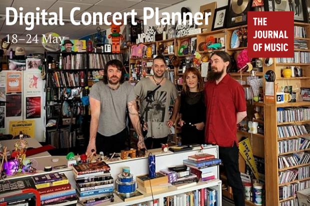 Digital Concert Planner: 18–24 May 2020