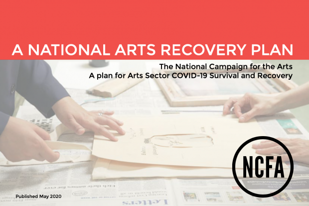 NCFA Launches 13-Point Plan to Save Arts Sector