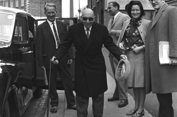 When Stravinsky Came to Dublin in 1963